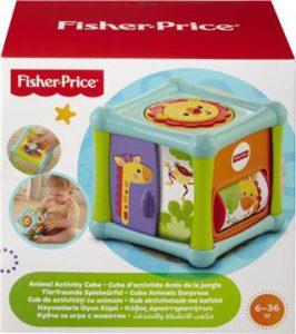 Fisher Price Κύβος Δραστηριοτήτων Με Ζωάκια (BFH80)