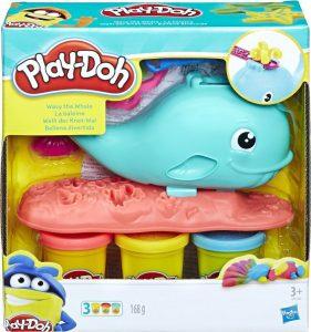 Hasbro Wavy η φάλαινα play-doh (E0100)
