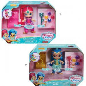 Mattel Shimmer & Shine Deluxe Σετ Με Κούκλα-2 Σχέδια FHN28
