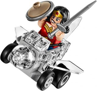 Lego Super Heroes Mighty Micros Wonder Woman Vs Doomsday (76070)
