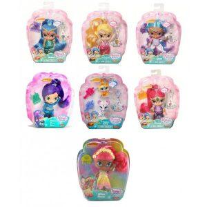 Shimmer & Shine Κούκλες-5 Σχέδια (DLH55)