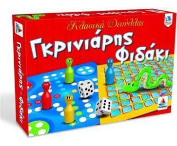 Desyllas Games – Επιτραπέζιο – ΓΚΡΙΝΙΑΡΗΣ – ΦΙΔΑΚΙ (100523)