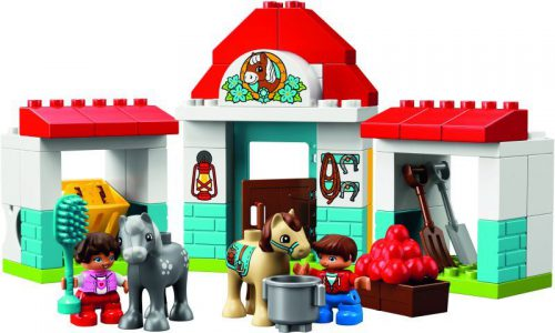 LEGO Duplo Farm Pony Stable (10868)