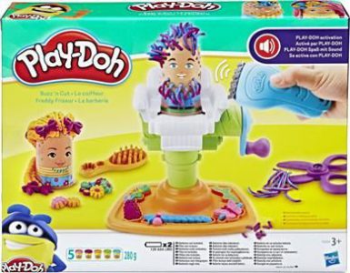 Playdoh Fuzzy Pumper Barber Shop (E2930)