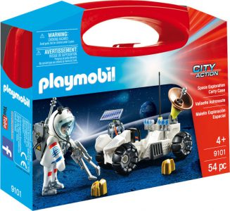 Playmobil City Action Βαλιτσάκι Αστροναύτης Με Εξερευνητικό Όχημα (9101)