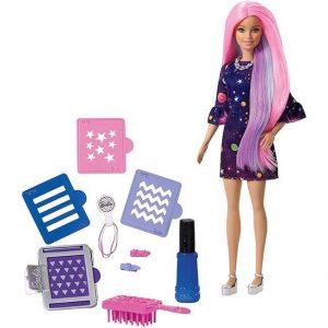 Mattel Barbie Μαλλιά Ουράνιο Τόξο (FHX00)
