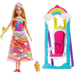 Mattel Barbie Ονειρεμένη Κούνια-Θρόνος (FJD06)