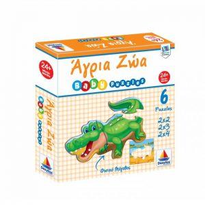 Desyllas Games – Puzzle – Άγρια Ζώα 100425