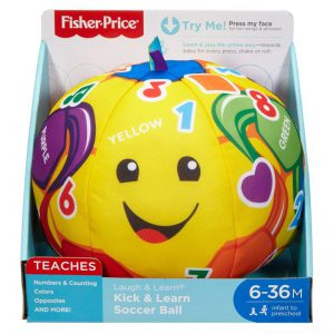 Fisher-Price Παίζω & Μαθαίνω Εκπαιδευτική Μπαλίτσα (FTC99)