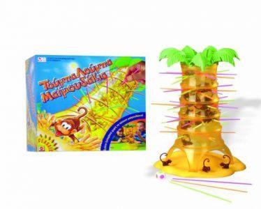 Mattel – Επιτραπέζιο – Τούμπα-Λούμπα Μαϊμουδάκια (52563)