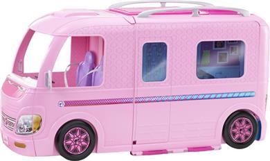 Mattel Barbie Τροχόσπιτο (FBR34)