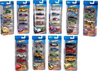 Mattel Hot Wheels ΑΥΤΟΚΙΝΗΤΑΚΙΑ ΣΕΤ 5Τ. – 23 Σχέδια (01806)