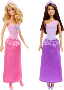 Mattel Barbie Πριγκιπικό Φόρεμα-2 Σχέδια (DMM06)