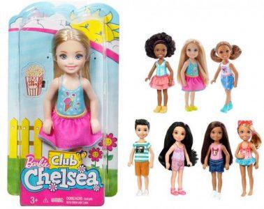 Mattel Barbie Τσέλσι & Φίλες-10 Σχέδια (DWJ33)