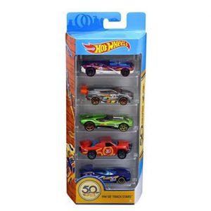 Mattel Hot Wheels Επετειακά Αυτοκινητάκια Σετ 5Τμχ (FWF98)