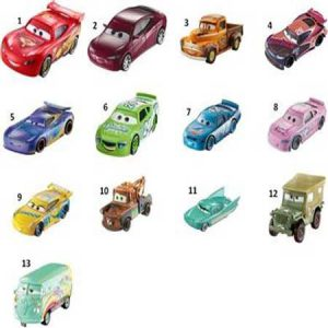 Mattel Cars 3 Αυτοκινητάκια- 24 Σχέδια (DXV29)