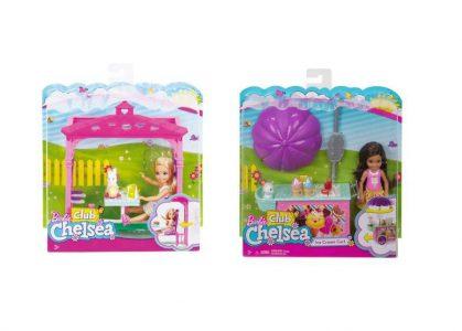 Mattel Barbie Τσέλσι & Φίλες Σετ Εξοχής-3 Σχέδια (FDB32)