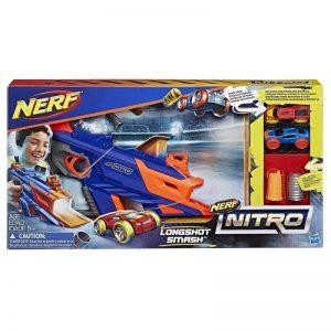Hasbro Nerf Nitro Εκτοξευτής Longshot Smash (C0784)