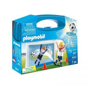 Playmobil Sports & Action Βαλιτσάκι Σετ Εξάσκησης Ποδοσφαίρου (5654)