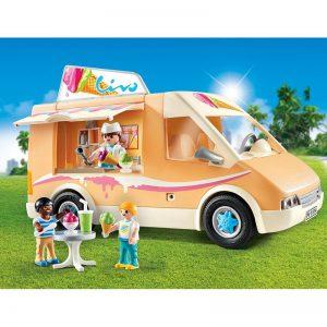 Playmobil City Life Βαν Παγωτού (9114)