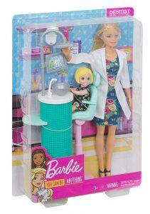 Mattel Barbie Οδοντίατρος FXP16