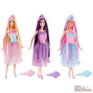 Mattel Barbie Μακριά Μαλλιά-3 Σχέδια (DKB56)