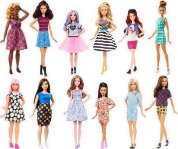 Mattel Barbie Fashionistas -10 Σχέδια FBR37
