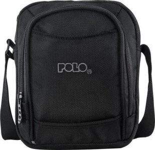 Polo Τσαντάκι Ώμου Vertical S Black 9-07-070-02