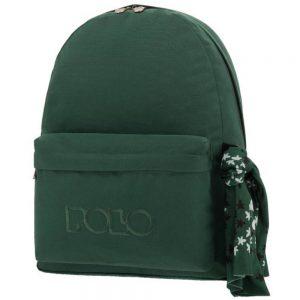 Polo Original Τσάντα Πλάτης Με Μαντήλι Πράσινο Σκούρο 2018 9-01-135-31+ Δώρο Διορθωτική Ταινία Edding