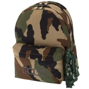 Polo Double Τσάντα Πλάτης Με Μαντήλι Παραλλαγή 2019 9-01-235-42+ Δώρο Διορθωτική Ταινία Edding