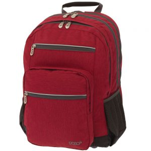 Polo Τσάντα Πλάτης Blazer Κόκκινο 2020 9-01-233-03+ Δώρο Διορθωτική Ταινία Edding