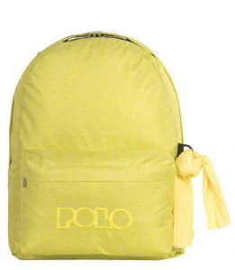 Polo Double Τσάντα Πλάτης Με Μαντήλι Τζιν Κίτρινο 9-01-235-97 (2017)+ Δώρο Διορθωτική Ταινία Edding