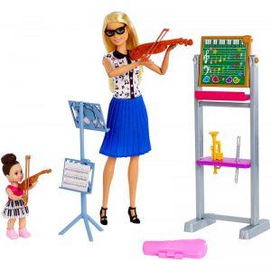Mattel Barbie Δασκάλα Μουσικής FXP18