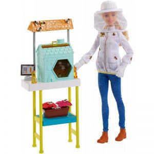 Mattel Barbie Ξανθιά Μελισσοκόμος FRM17