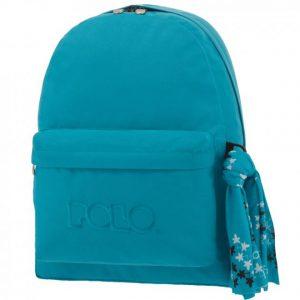 Tσάντα POLO μαντήλι θαλασσί 9-01-135-20