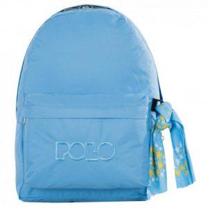 Polo Original Τσάντα Πλάτης Με Μαντήλι Γαλάζιο 2018 9-01-135-25+ Δώρο Διορθωτική Ταινία Edding