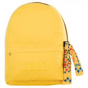 Polo Original Τσάντα Πλάτης Με Μαντήλι Κίτρινη 2017 9-01-135-04+ Δώρο Διορθωτική Ταινία Edding