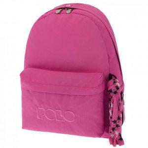 Polo Original Τσάντα Πλάτης Με Μαντήλι Ροζ 2019 9-01-135-19+ Δώρο Διορθωτική Ταινία Edding