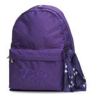 Polo – Original Τσάντα Πλάτης Με Μαντήλι Μωβ 2020 9-01-135-21+ Δώρο Διορθωτική Ταινία Edding