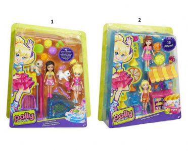Mattel Polly Pocket Σετ Παιχνιδιού Με 2 Φιγούρες-2 Σχέδια DHY67
