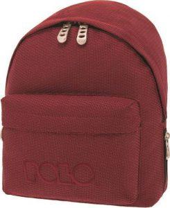 Polo Σακίδιο πλάτης Mini Knit Μπορντό 2019 9-07-961-73