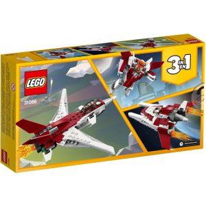 Lego Creator 3-in-1 Futuristic Flyer 31086