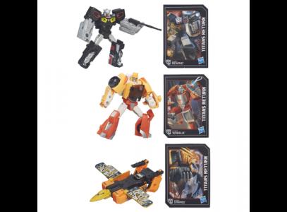 Hasbro Transformers Generations Legends Titans Return 3 Σχέδια B7771