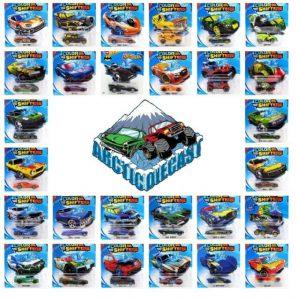 Mattel Hot Wheels Χρωμοκεραυνοί – 9 Σχέδια BHR15
