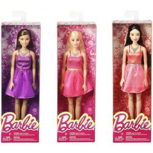 Mattel Barbie Μοντέρνα Φορέματα Με Αξεσουάρ Σε 7 Σχέδια (T7580)