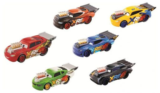 Mattel Cars XRS Αυτοκινητάκια Drag Racers-6 Σχέδια (GFV33)