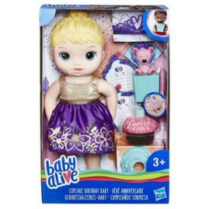 Hasbro Baby Alive Cupcake Birthday Baby BL E0596