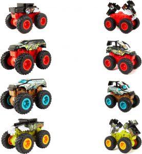Mattel Hot Wheels Monster Trucks Οχήματα Σύγκρουσης – 4 Σχέδια (GCF94)