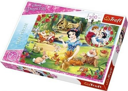 Trefl puzzle 200 Pcs Disney Princess The Dream of Love 13204