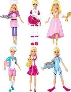 Mattel Mini Barbie Επαγγέλματα – 2 Σχέδια (CCH54)